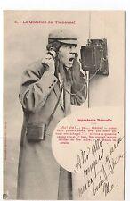 TELEPHONE et thémes BERGERET Téléphone mural écrite ALLO