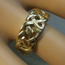 9 ct gold second hand celtic ring
