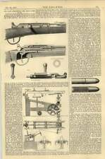 1867 Small Arms Chassepot Rifle French Government Mechanical Rest