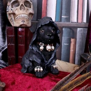 Nemesis Now  REAPERS CANINE  Cloaked  Reaper Dog Ornament  Gothic  Witch