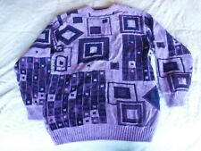 Mens Prestige PD Size 2XL Purple Sweater Pre Owned
