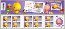 Bande Carnet BC4184 / BC163 - Les timbres à gratter - C'est une fille - 2008