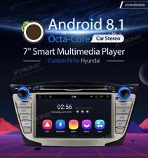 AUTORADIO HYUNDAI IX 35 TUCSON Navigatore GPS Android 8.1 Wi-Fi 4G 8core XTRONS