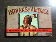 """Vintage """"Indians of America"""" Hardcover 