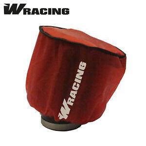 Pitbike W Racing Air Filter Cover RED Water-resistant CW Bikes Pit Bike Dirt