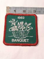 Vintage Boy Scouts Michigan 1982 Banquet Patch ~ Ships FREE