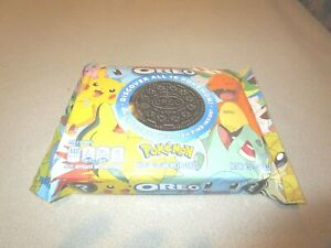 Oreo Pokemon Collab Chocolate Sandwich Cookies 15.25oz LIMITED EDITION IN HAND