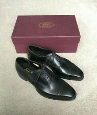 "George Cleverley ""Charles"" Oxford Shoes - UK 7 - Black Calf Leather - RRP £595"