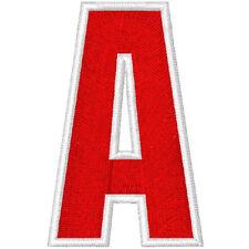 Trikot  Aufnäher Motiv 1  Buchstaben von A - Z 100 %gestickt  Höhe  7 cm