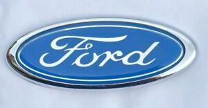Light Blue Ford Badge Custom Emblem high quality free p&p
