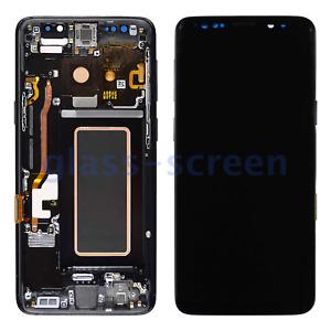 OEM Samsung Galaxy S9 G9600/08 G960D/F/N/U/W AMOLED LCD Screen Digitizer Frame