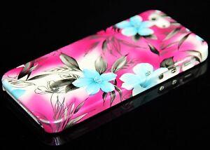 Handy Hülle für Apple iPhone 5S 5 SE Tasche Cover Case + option Schutzglas Glas