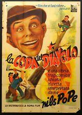 LA CODA DEL DIAVOLO 1946 Pengar - en tragikomisk saga NILS POPPE, MANIFESTO