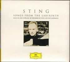 STING Songs from the Labyrinth CD DIGIPACK 23 track 2006 Deutsche Grammophon