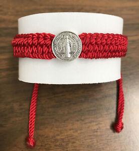 Pulsera Roja De San Benito Para Protección - Handmade Bracelet St.Benedict.