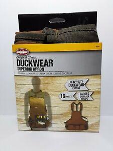 Bucket Boss 80200 Duckwear Superbib 18 Pocket Shop Apron Tool Pouch