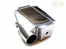 """Air Water Liquid Intercooler Chargecooler 180° 3"""" Inlet Rated Up to 700BHP"""