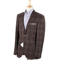 NWT $3295 BRUNELLO CUCINELLI Peak Lapel Linen-Wool-Silk Sport Coat Slim 38 R