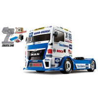 Tamiya XB No.204 1/14 TEAM HAHN RACING MAN TGS TT-01 Chassis TYPE-E RC Drive Set