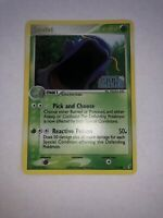 Pokemon Swalot EX Crystal Guardians Rare 2006 Holo Card #11/100 STAMPED NM/LP