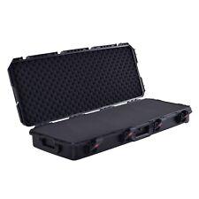 ProX VaultX XM-1103W Watertight Electric Guitar & Keyboard case w/ Foam & Wheels