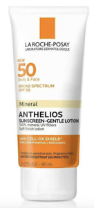 La Roche-Posay SPF 50 Body & Face Mineral Anthelios Sunscreen 3 oz