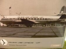 1/200 Herpa 554657 LOT Polish Airlines Vickers Viscount 800*