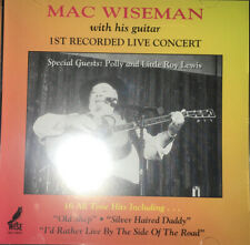 Mac Wiseman CD First Recorded Live Concert