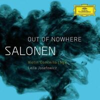 "Salonen: "" Out Of Nowhere "" - Violon Concerto (2009); NYX (2011) Neuf CD"