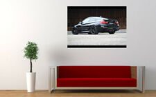 """BLACK BMW M4 G POWER NEW GIANT LARGE ART PRINT POSTER PICTURE WALL 33.1""""x23.4"""""""