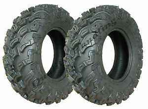 2 - Quad tyres 26X11-12 6ply ATV tires 7psi 26 11.00 12 E marked road legal
