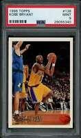 Kobe Bryant Rookie Card 1996-97 Topps #138 PSA 9