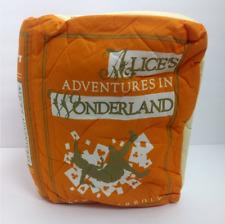ThinkGeek Alice in Wonderland Pillow Lewis Carroll White Rabbit Cheshire Cat