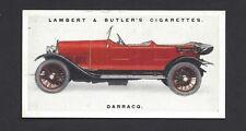 LAMBERT & BUTLER - MOTOR CARS, 3RD - #16 DARRACQ