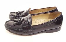 Cole Haan City Mens Shoes 9 D Cordovan Leather Slip On Tassel Loafers Brown Moc