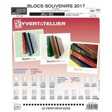 Jeux SC France blocs souvenirs 2017 avec pochettes de protection.