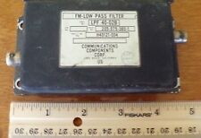 Bell Helicopter FM Low Pass Filter LPF-40-02B or 205-075-380-1