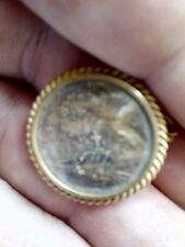 vintage Victorian antique mourning brooch