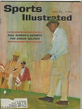 PAUL RUNYAN SPORTS ILLUSTRATED  AUGUST 6 1962 GOLFER  COVER