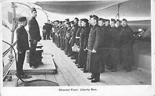 POSTCARD   MILITARY   NAVY   Channel  Fleet   Liberty  Men