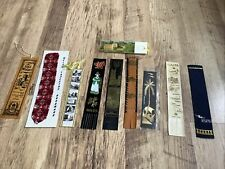 More details for collection of vintage bookmarks top condition great mix x10 see pics