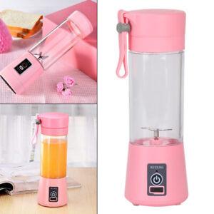 USB 380ML Portable Mixer Rechargeable Juicer Fruit Blender Juicer Shaker Bottle