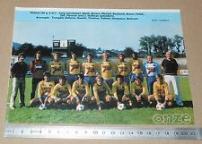 CLIPPING POSTER FOOTBALL 1980-1981 D2 SFC THIONVILLE