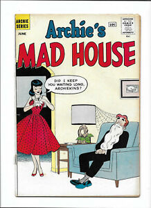 """ARCHIE'S MAD HOUSE #12 [1961 GD-VG] """"PICTURES CAN LIE""""   SILVER- AGE COMICS"""