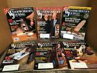 (Lot of 6) Woodworkers Journal 2005/2006  Volume 29  #3-6, Volume 30  #1 & 3