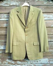 Ermenegildo Zegna 15 Milmil 15 Green Wool Jacket (IT 48; UK 38) Linea Alessandro