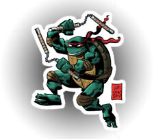 TMNT Teenage Mutant Ninja Michelangelo is a Party Dude! car laptop sticker