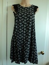 NEW LOOK MELA LOVES LONDON SWING DRESS WITH LACE DETAIL SIZE 10 - FULLY LINED