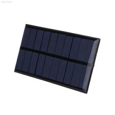 4309 1621 5V 1W Solar Panel Battery Charger Power Outdoor Phone GPS Camera Black