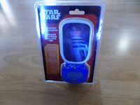 Star Wars R2-D2 R2D2 Droid Glowlight Glow Night Light USB Charger Nightlight New